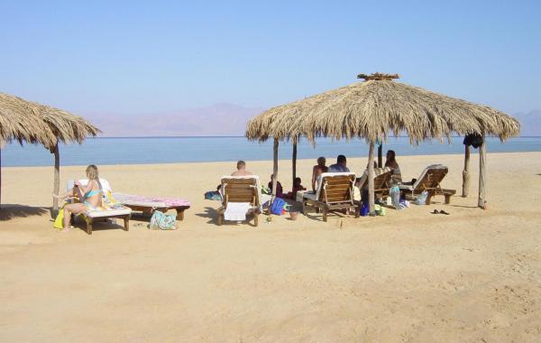 комфортная погода зимой на побережье Красного моря