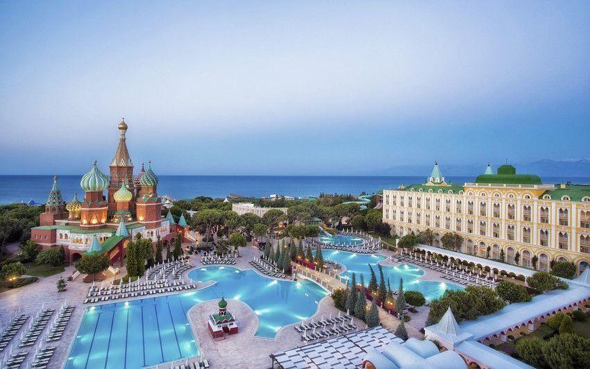 Кремлин палас Турция бассейн
