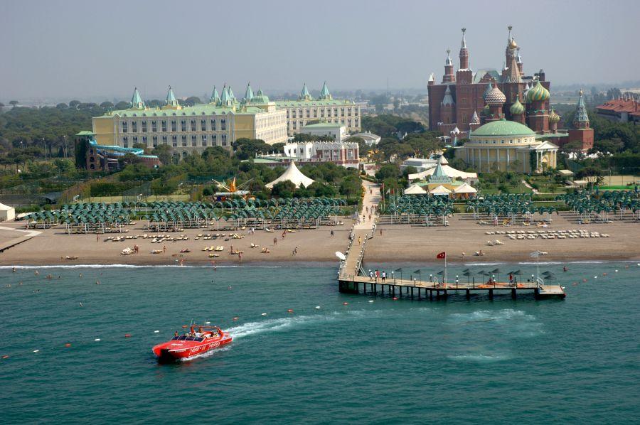 Кремлин палас Турция пляж