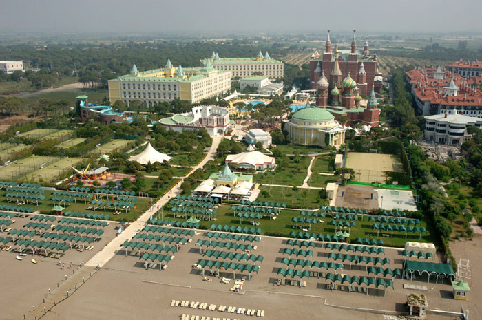 Кремлин палас Турция территория