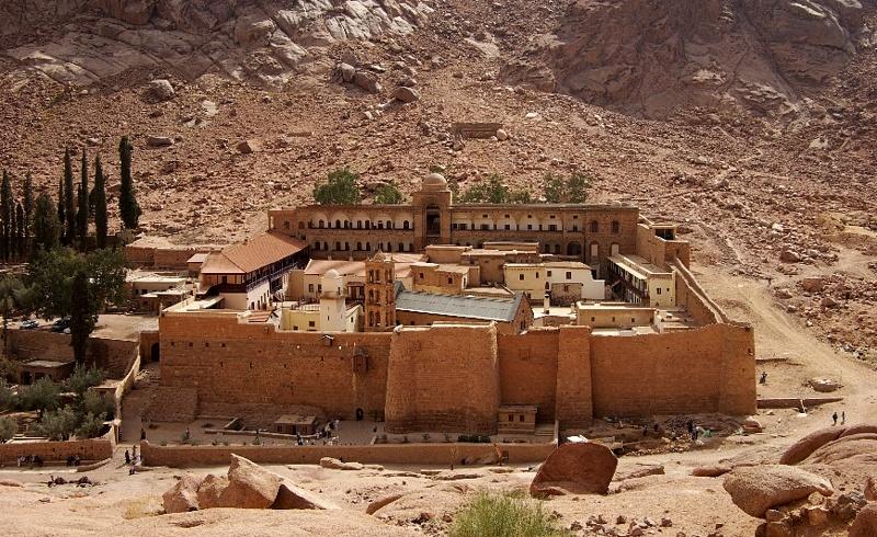 монастырь Св. Екатерины в Египте