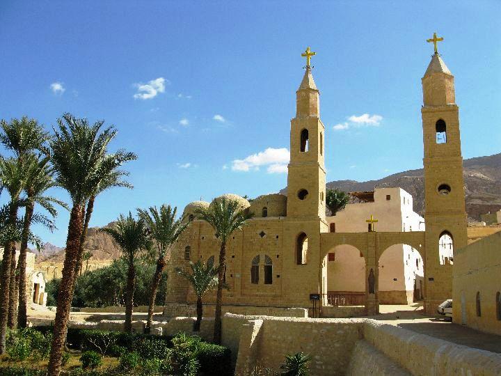 монастыри св.Антония и св.Павла
