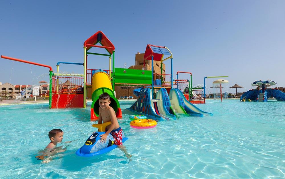 Особенно актуальными отели Хургады с аквапарком являются для деток