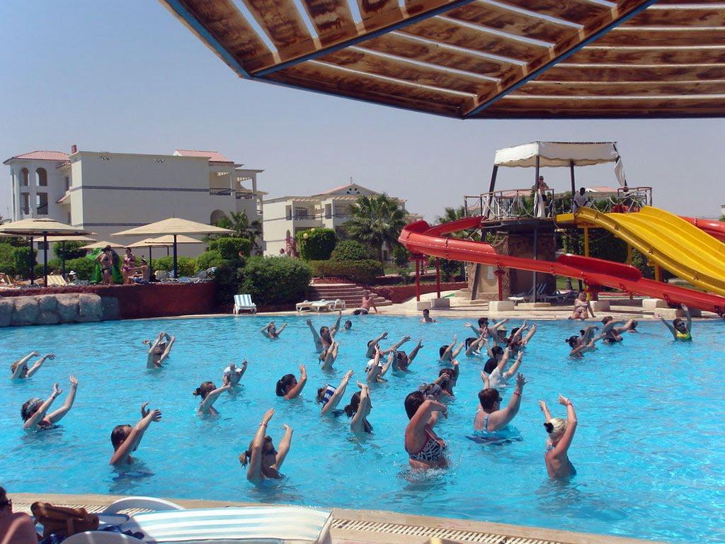 Отель Гармония Макади Бей Хургада бассейн