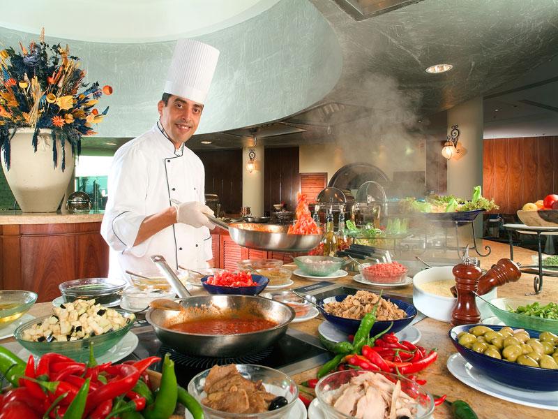 отели Египта предоставляют большой ассортимент блюд в меню