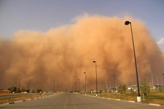 песчаные бури в Египте