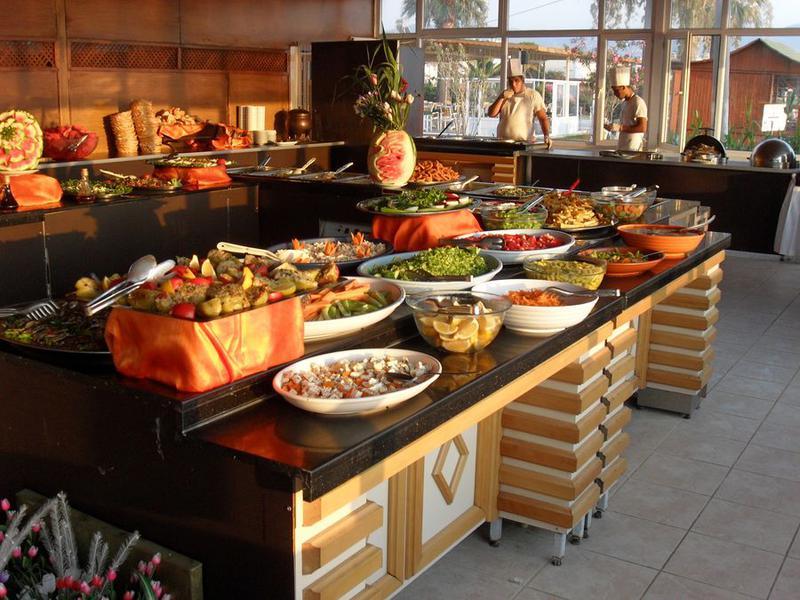 питание в отеле Лонг Бич Резорт Турция