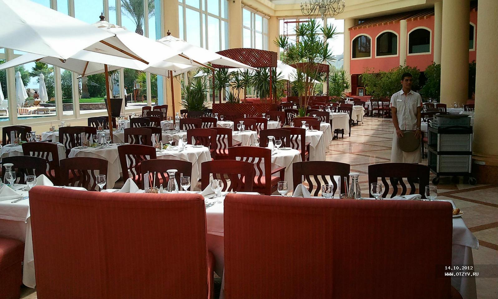 питание в отеле Хилтон в Шарм эль Шейхе