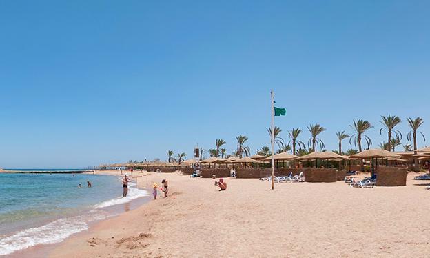 пляж отеля Голден 5 Парадиз