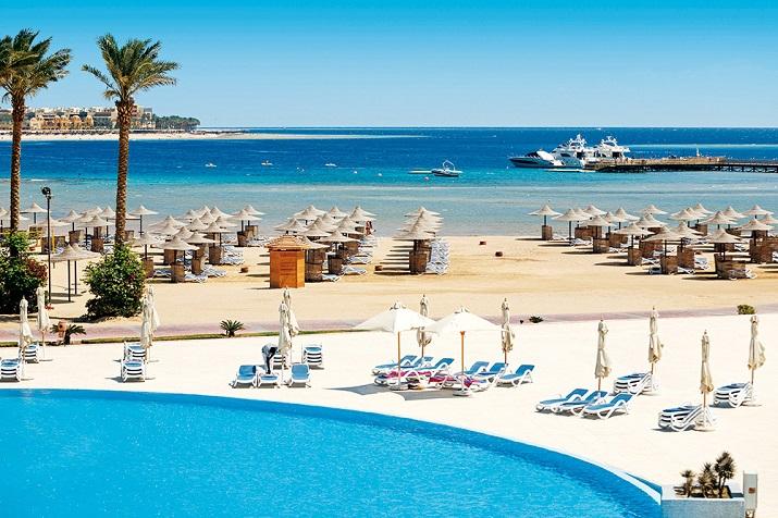 пляж отеля Клеопатра Хургада
