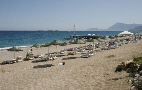 пляж отеля Марти Мира Кемер