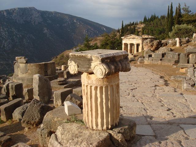 развалины-античного-Олимпа