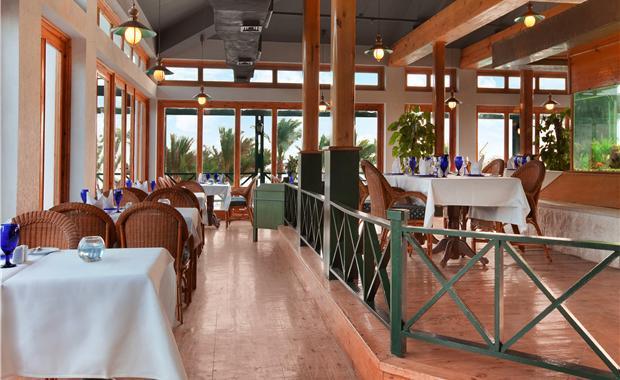 В ресторане отеля Хилтон Хургада Резорт 5