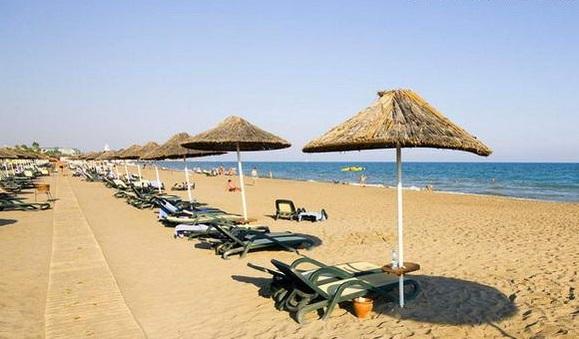 Пляжи курорта Белек