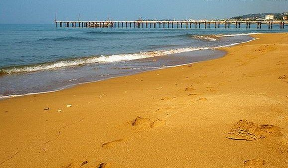 пляжи курортного поселка Инджекум