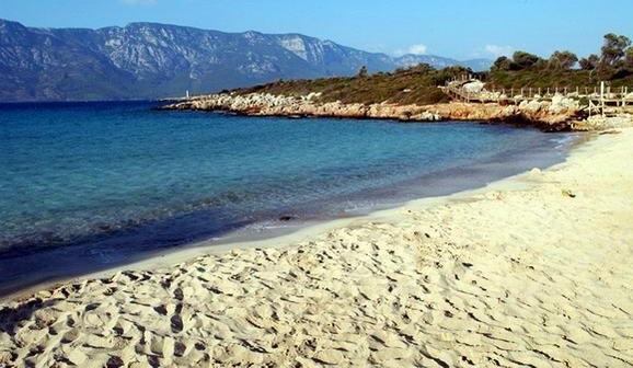 Песчаный пляж Мармариса