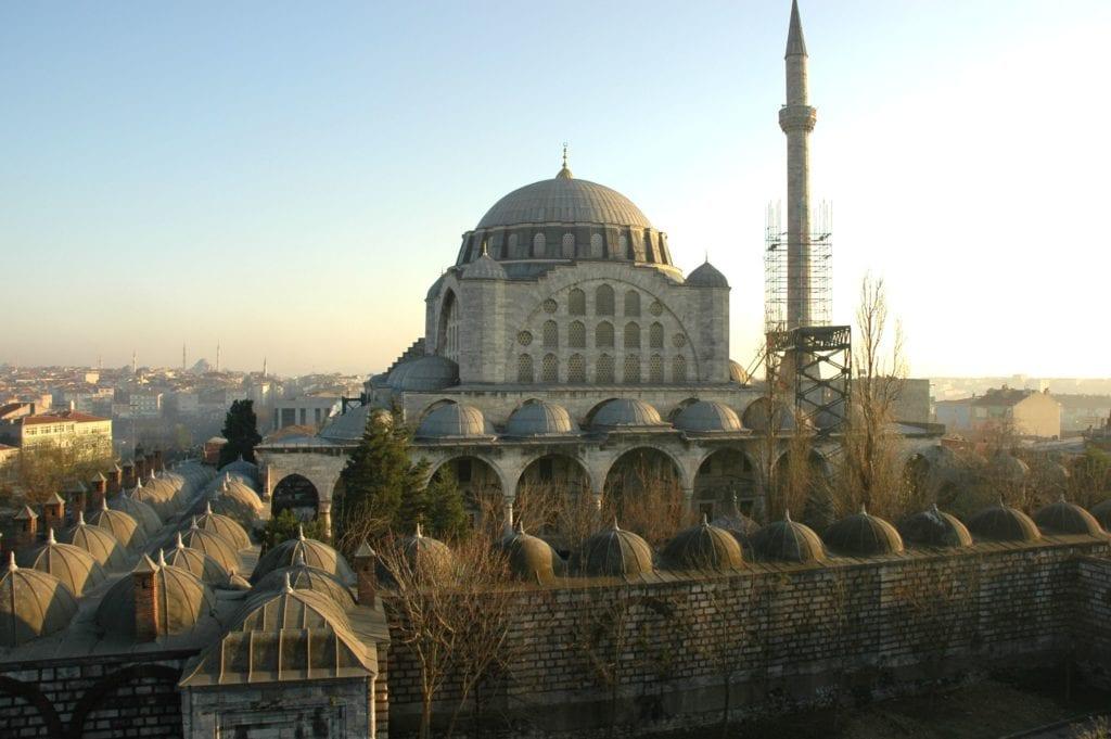 достопримечательности Стамбула - Мечеть Махримах Султан