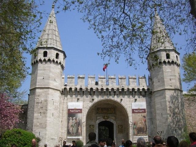 достопримечательности Стамбула - Дворец Толкапы