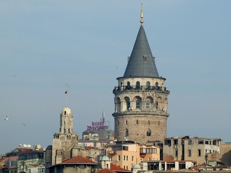 достопримечательности Стамбула - Галатская башня