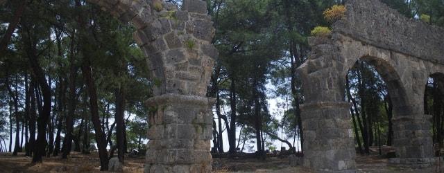 Руины древнего города Фазелис
